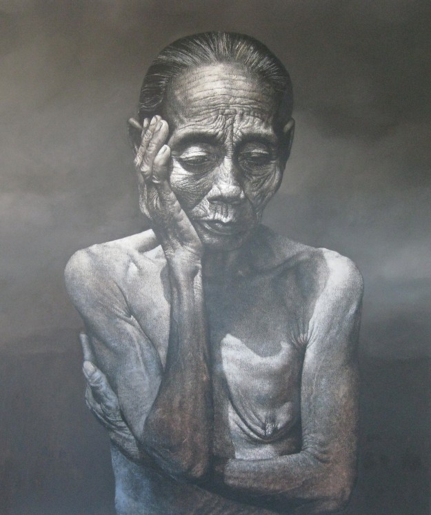 Agung Mangu Putra, 2010, 'ibu Pertiwi', oil on canvas, 180x160cm copy