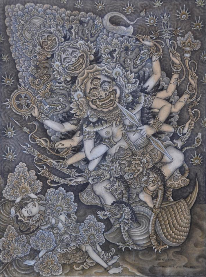 """Gusti Ketut Kobot, """"Triwikrama"""" 1986, Image couresty of Larasati"""
