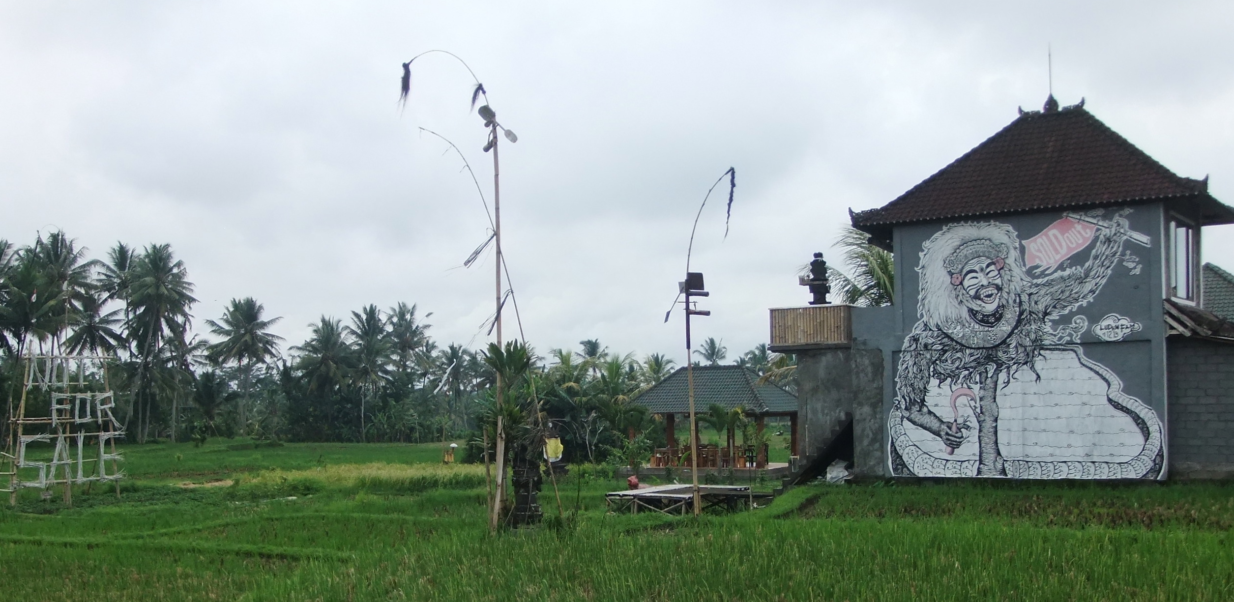 Luden House Ubud - 'Not For Sale' + 'Sold Out' 2014, Image Richard Horstman