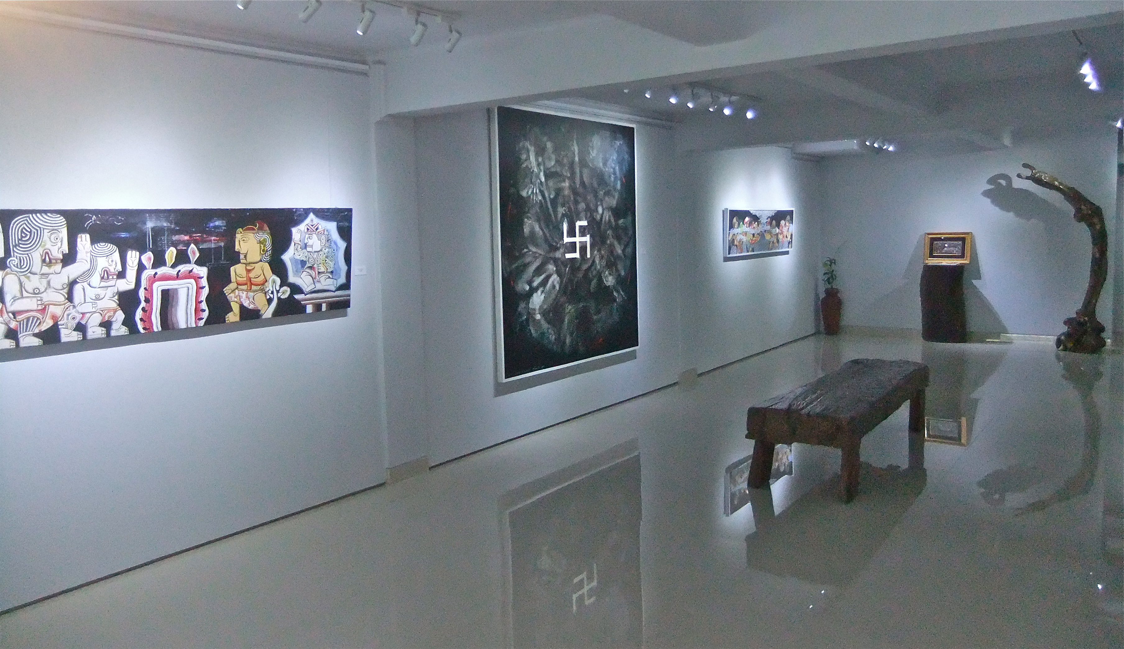 TiTian Art Space. Image by Richard Horstman