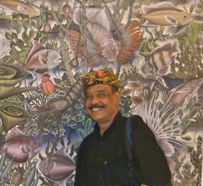 Agung Rai at ARMA Museum, Image Richard Horstman