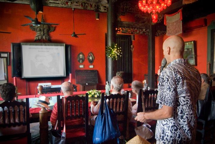 Balinese: Indonesian art lecture at Tugu Hotel Bali. Image by Artpreciation