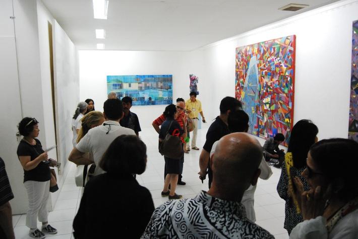 Visiting Made Wiantas Studio. Image by Artpreciation