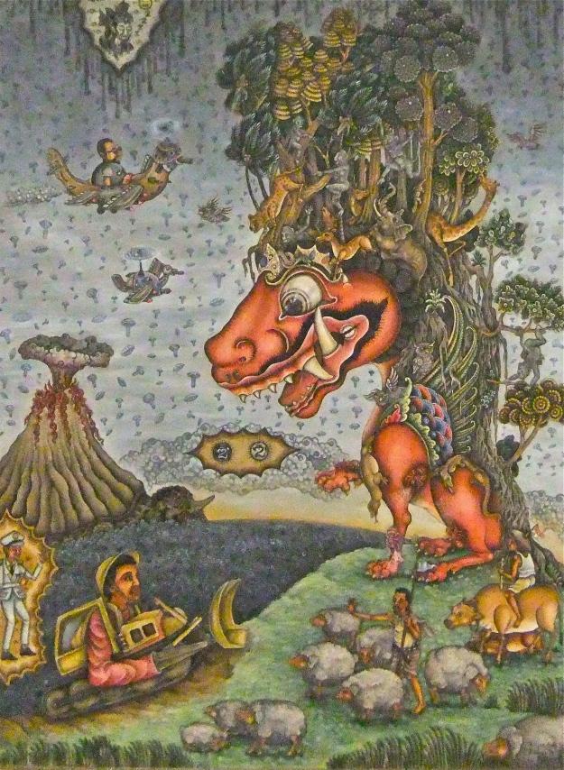 """Wayan Aris Sarmanta  """"Kautan Alam dan Batuan"""" 2015 Image Richard Horstman"""