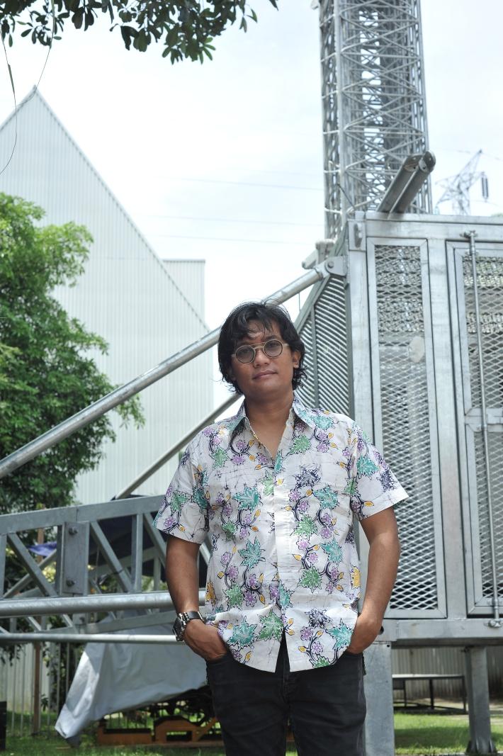 ArtJog9 CEO & founder Heri Pemad - image courtesy of ArtJog9