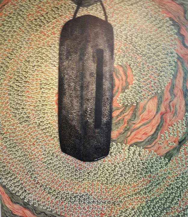 "Ketut 'Kabul' Suasana ""KulKul"" 150x170cm Acrylic"
