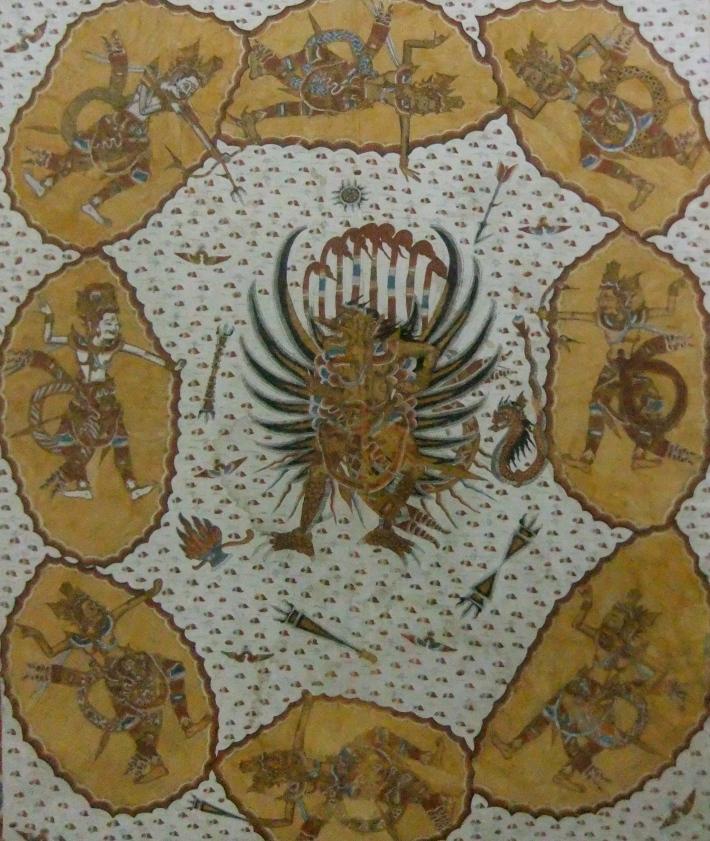 """""""The Gods of Eight Attacking Garuda,"""" Pan Seken 2"""