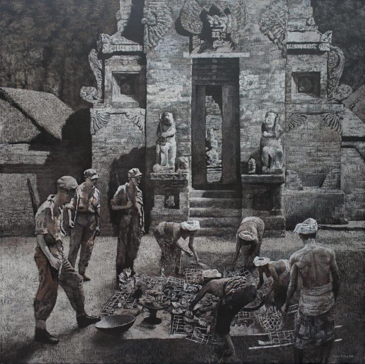 mangu-putra-2016-dalam-pengawasan-kolonial-200-x-200-cm-oil-on-linen