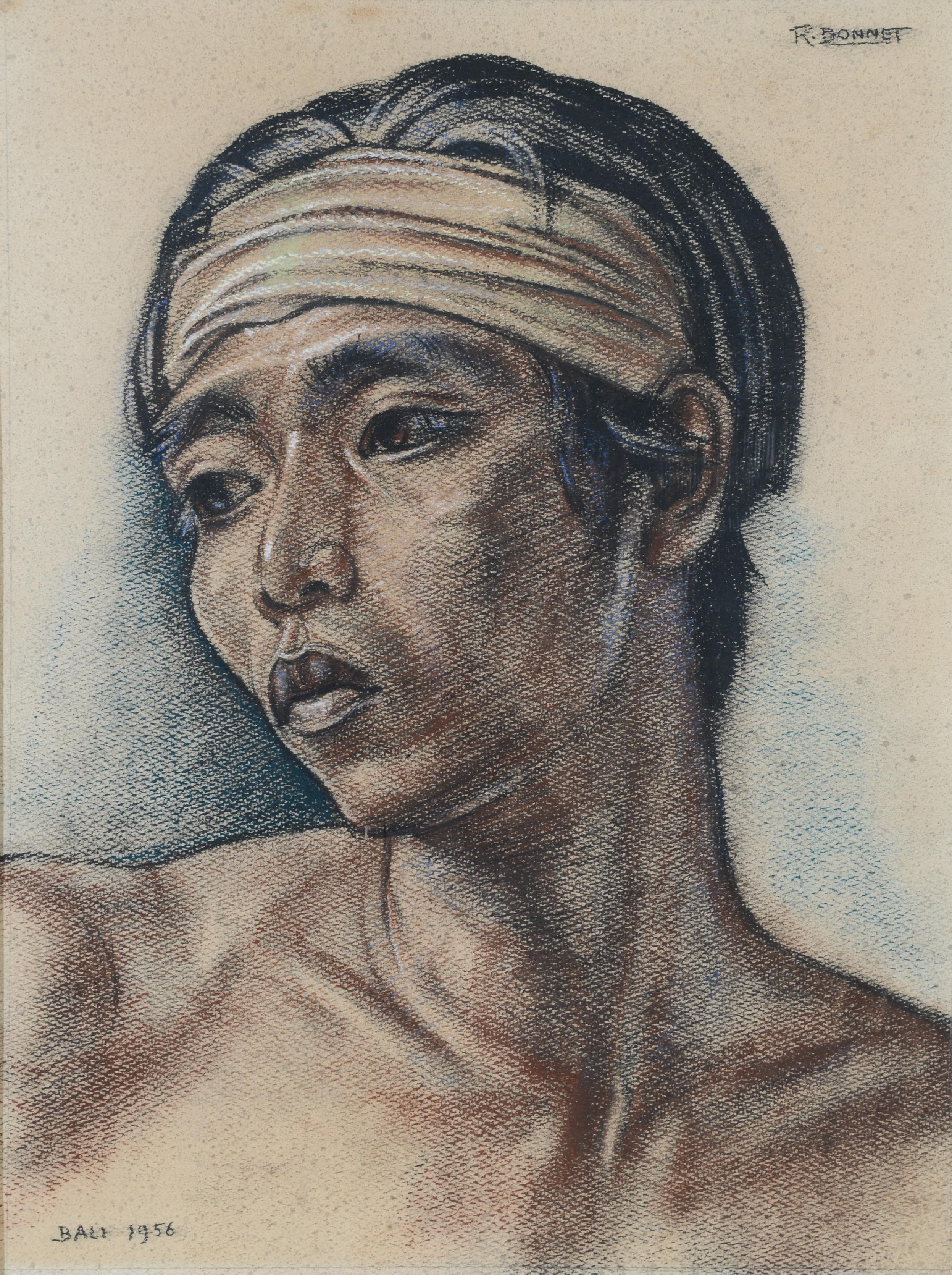 rudolf-bonnet-portrait-of-balinese-boy
