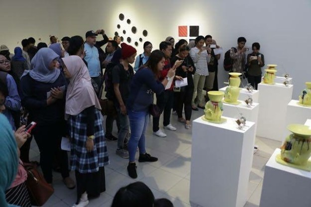 Audience at JCCB#4 national Gallery Indonesia