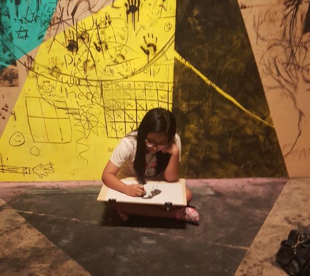 Creativity during opening of DRAWING FUTURE Image Richard Horstman