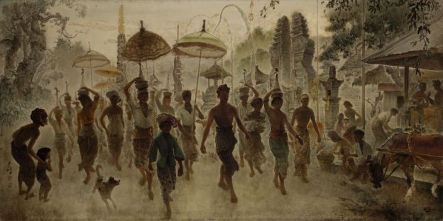Lee Man Fong_Balinese Procession