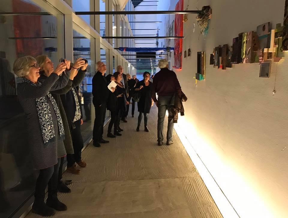 Visitors during the 18 March opening Kunsthal Light 16 Image Aji Bayuaji