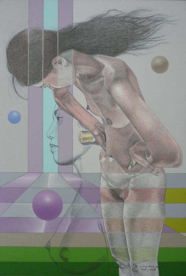Exotic, 93 x 64 cm, 2008