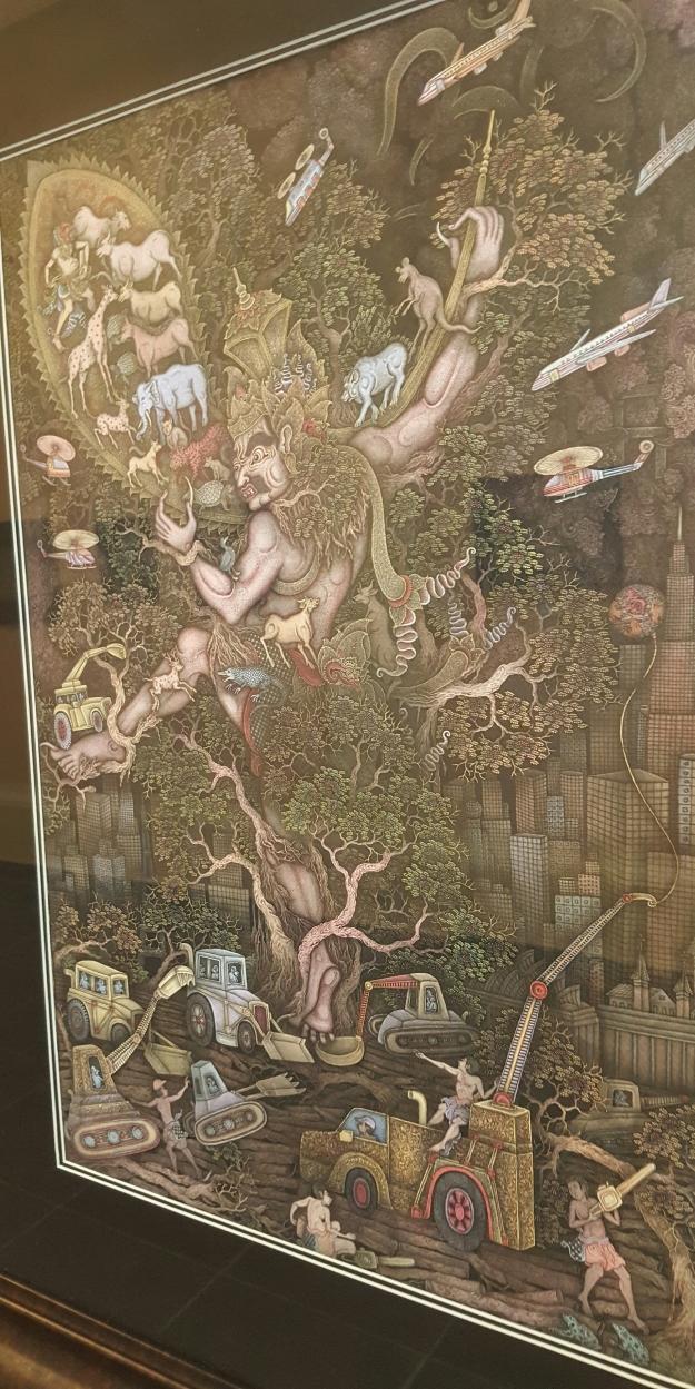 """I Putu Kusuma - """"Illegal Logging"""" 2016"""