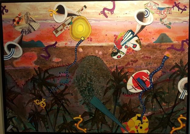 "Michael Downs ""Gambelan Landscape"""