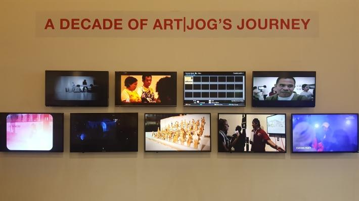 A Decade of ArtJog's Journey. Image Richard Horstman