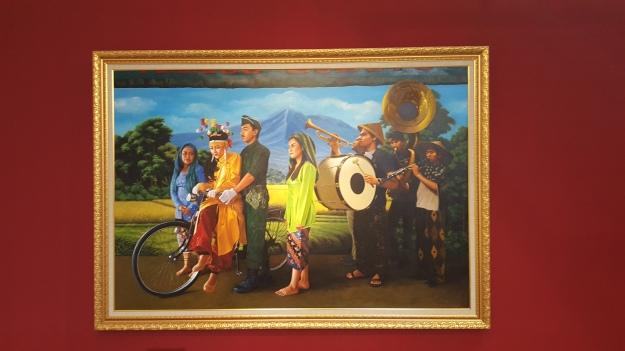 """""""Pengantin Revolusi"""" 2017 Moelyono. """"Amok Tanah Jawa"""" Langgeng Art Foundation Image R Horstman"""