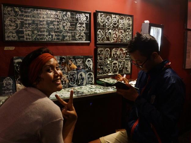 "The Exhibition ""I Love Me - the Selfie Project"" at Laramona, Ubud. Image Merio Falindra"