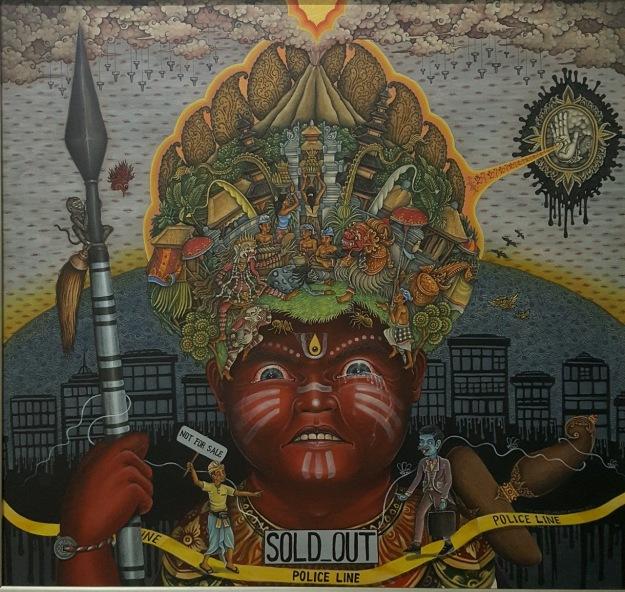 """Bali Not For Sale - Tangis Amarah Pulau Kecil"" Aris Sarmanta. Image R. Horstman"