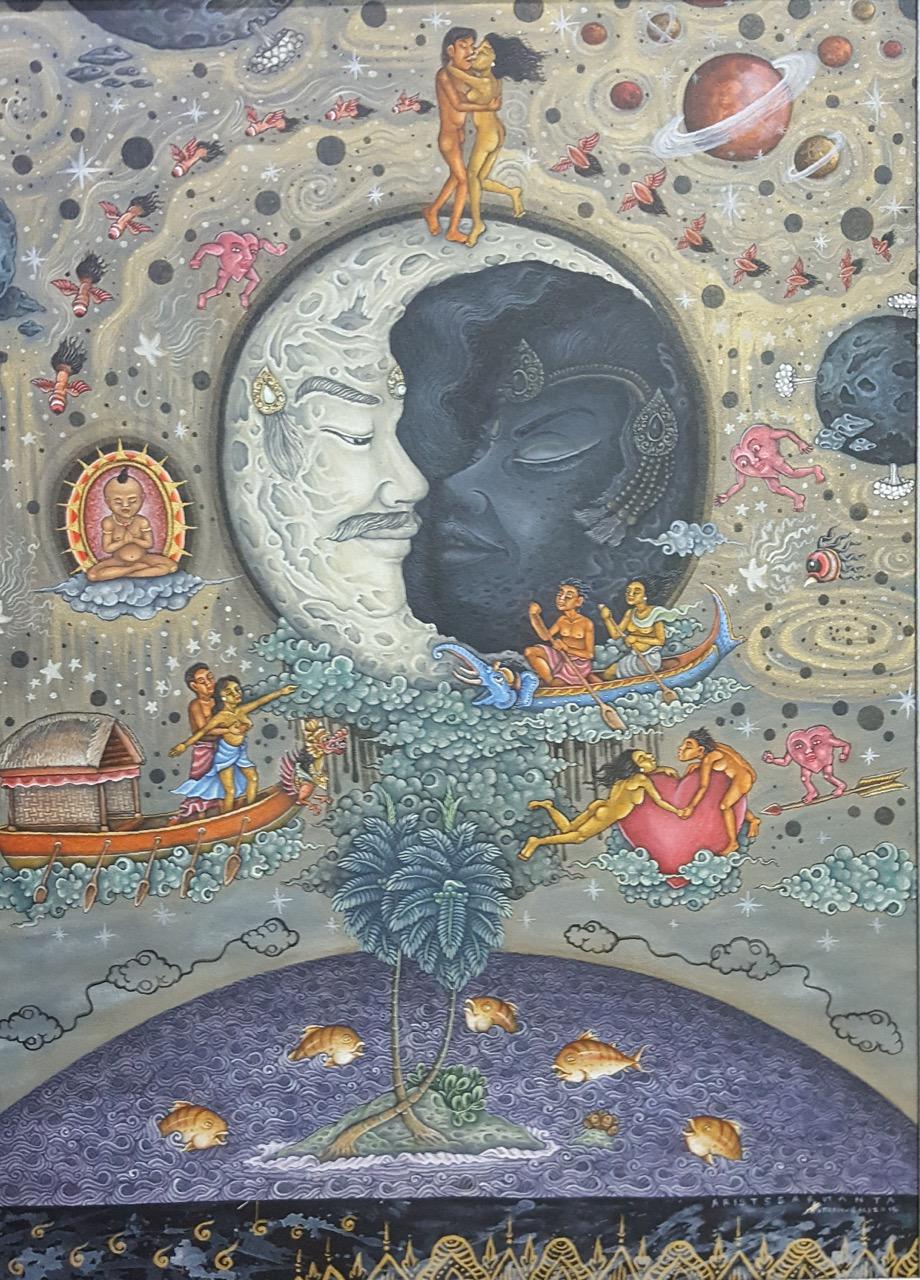 """Bulan Cinta (Moon Lovers)"" Aris Sarmanta. Image R. Horstman"