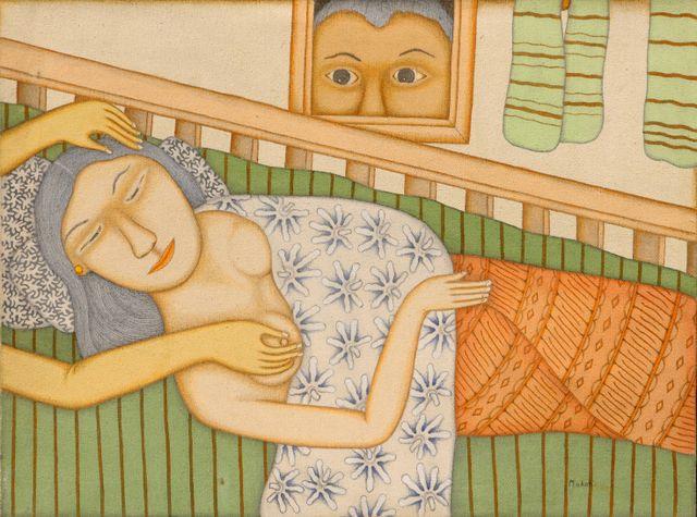 Dewa Put Mokoh, 2006, Acrylic on canvas 60x90cm.