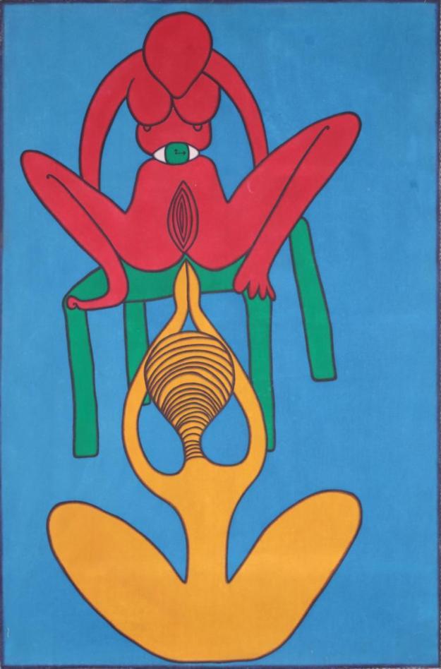 I GAK MURNIASIH - SEMBAHYANG 104 - AOC - 170 x 100 cm - 2004