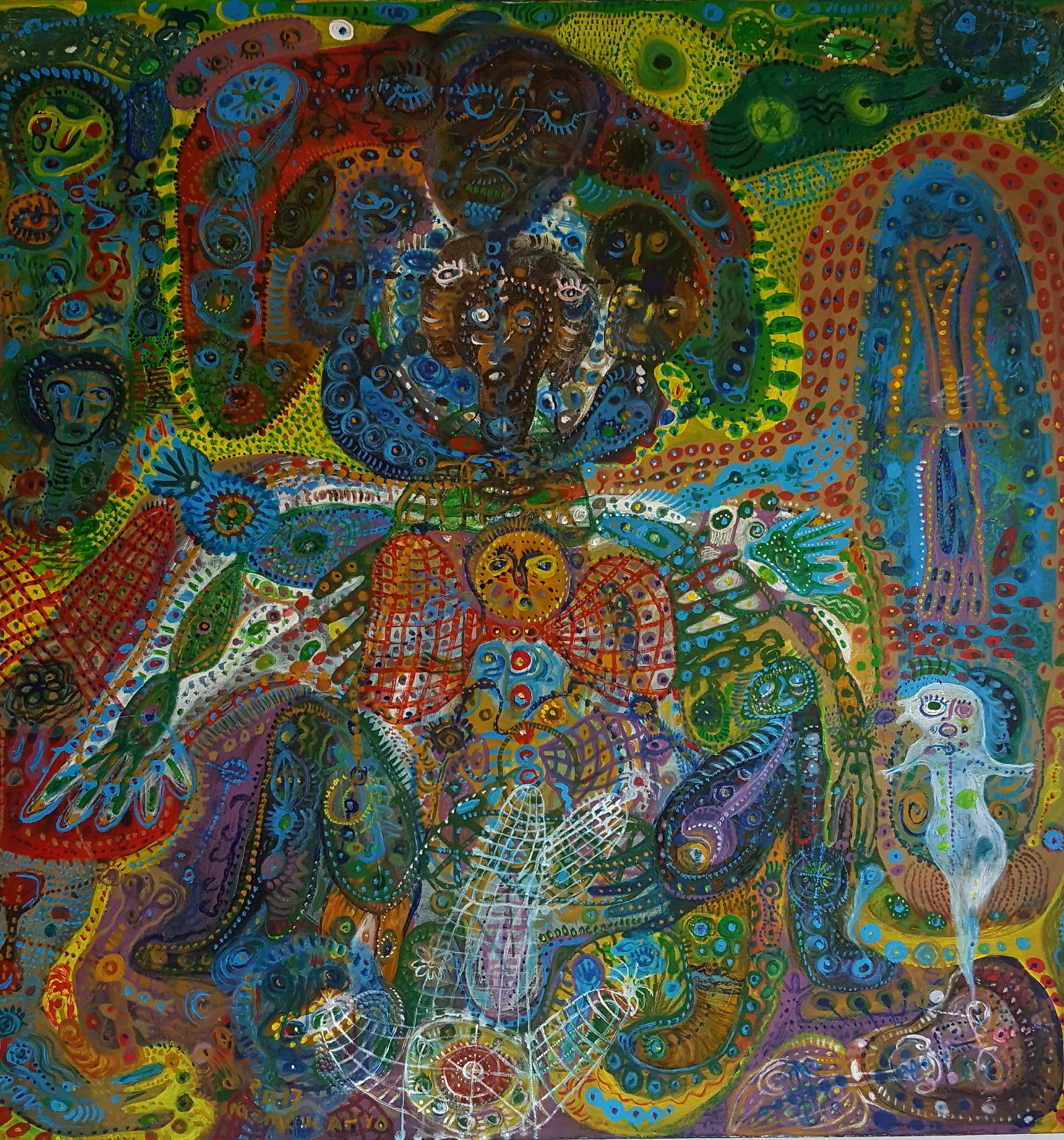 Art work by Imam Sucahyo - image R. Horstman