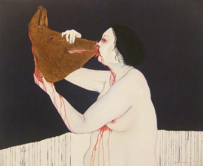 """Citra Sasmita - """"Torment"""" Image by R. Horstman"""