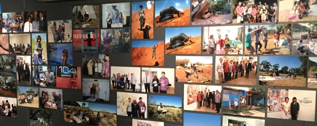 Some of the photos of the Artist's Camp and Made Budhiana's other ventures to the NT at the NCCA