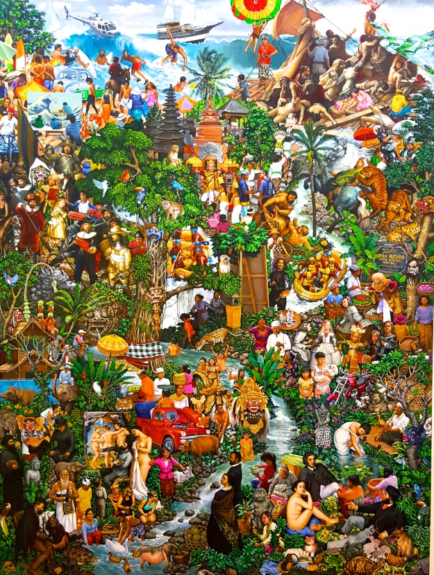 7 Magnificent Masterpieces #2, 2012 Acrylic on canvas 200x150cm