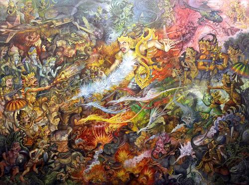 The-Death-of-Gatotkaca. 1500x200. 2013