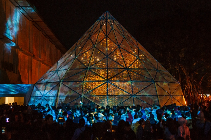 ARTJOG 2018_Facade and Opening Crowd