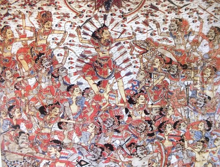Balinese Kamasan Painting