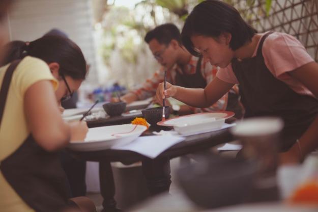 Denpasar2018 Ceramic Painting Workshop 20 10 2018