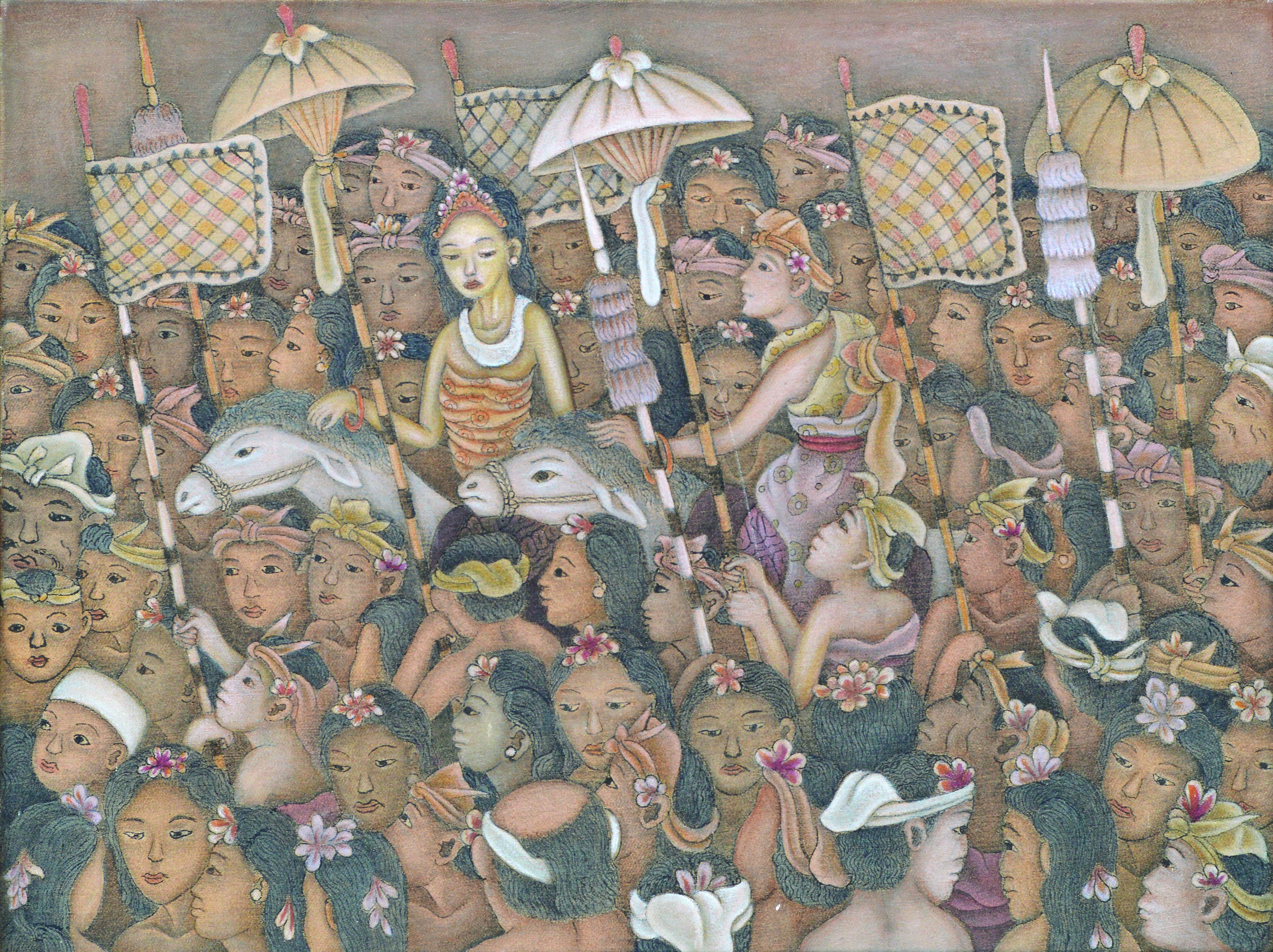 "dewa putu mokoh ""iringan pengantin"" image courtesy of larasati"