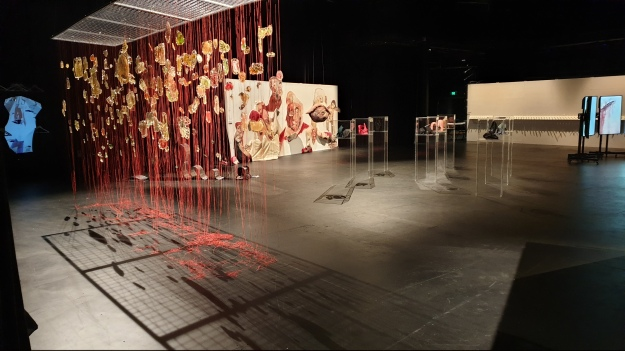 #Perempuan exhibition view at Space 28 Victorian College of the Arts (VCA) MelbournePhoto by Richard Horstman