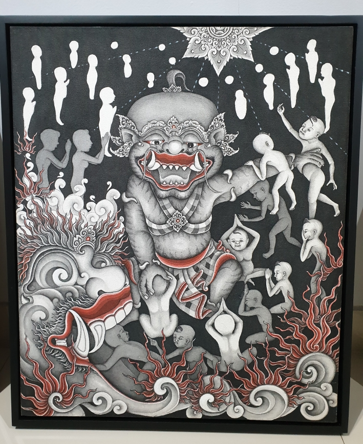 """Saya Kemana"" 2018, Made Sujendra Image R. Horstman"