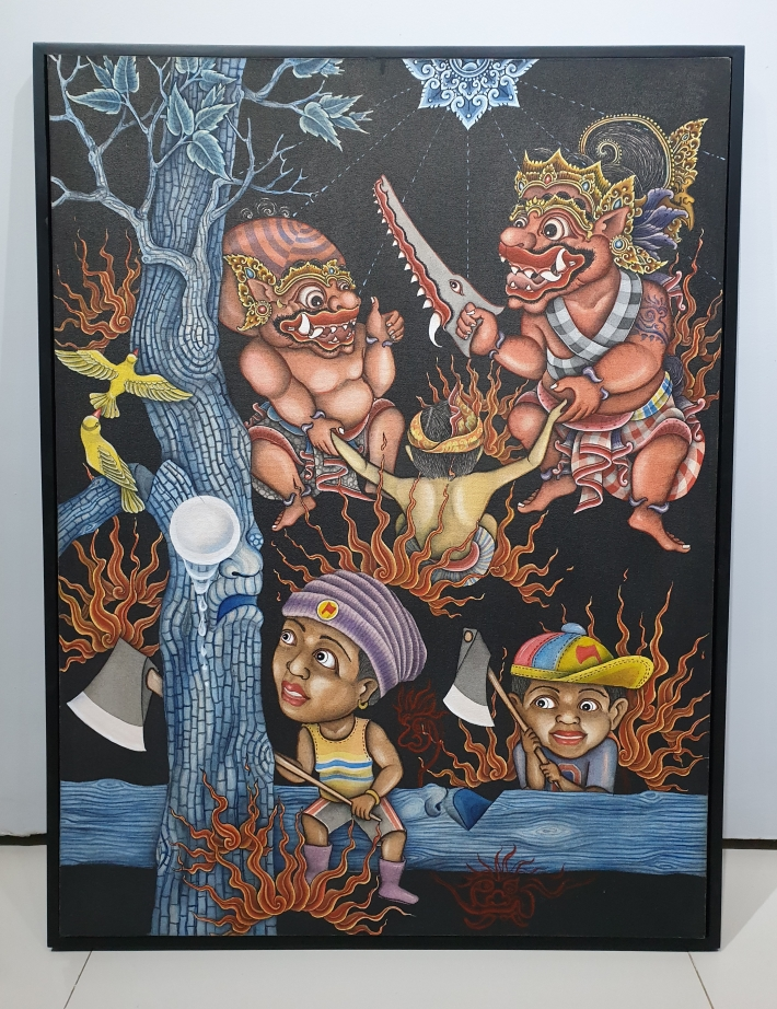 """Senyummu Tangisku"" 2018 Made Sujendra Image R. Horstman"