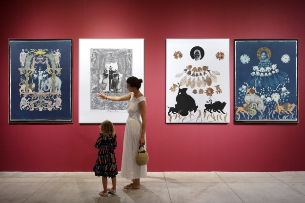 Art works by Budi Agung Kuswara - Image courtesy of Heri Pemad Bali