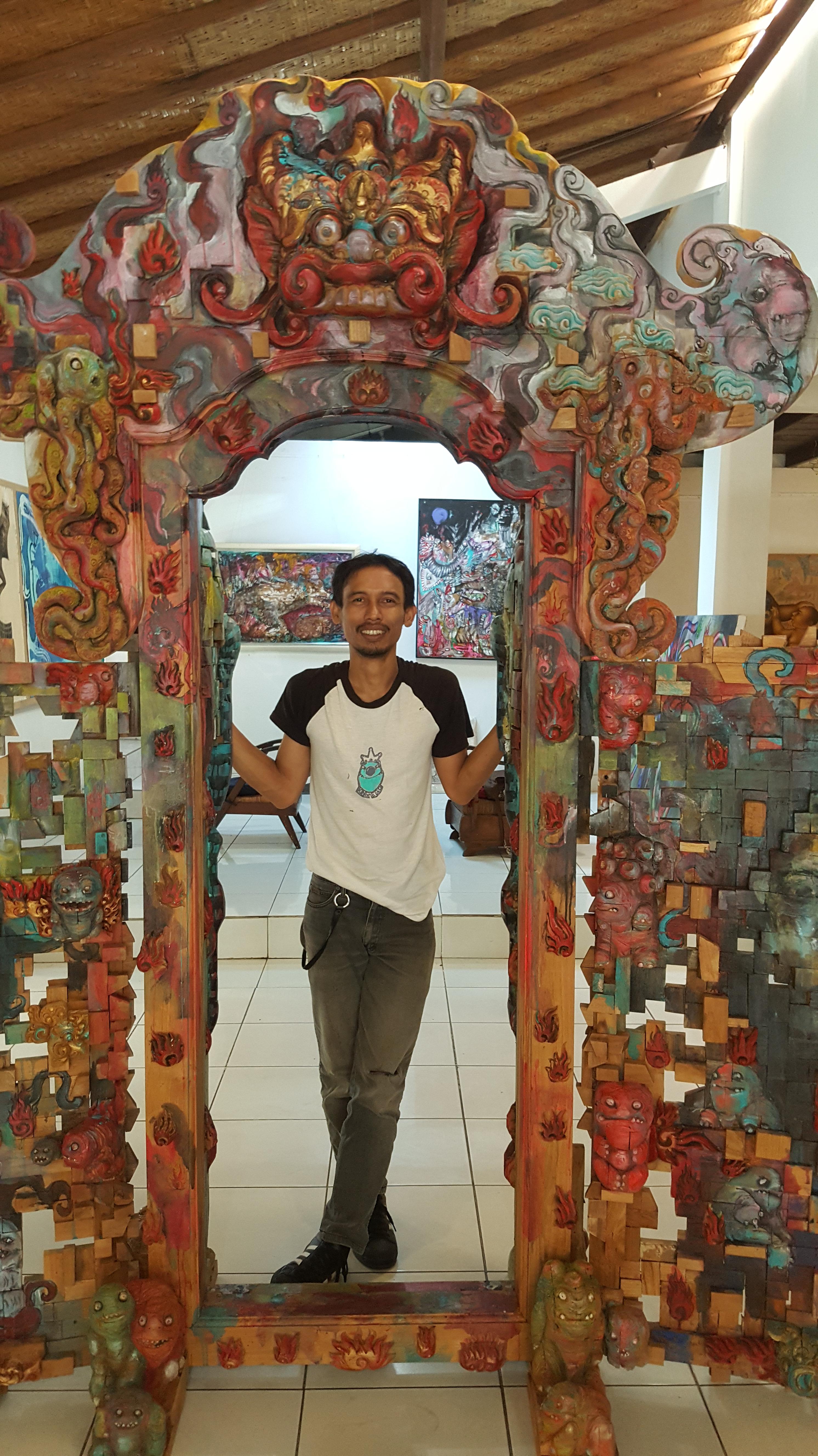 """Artist Made Aswino Aji & """"Doors of Perception"""" Image R. Horstman"""