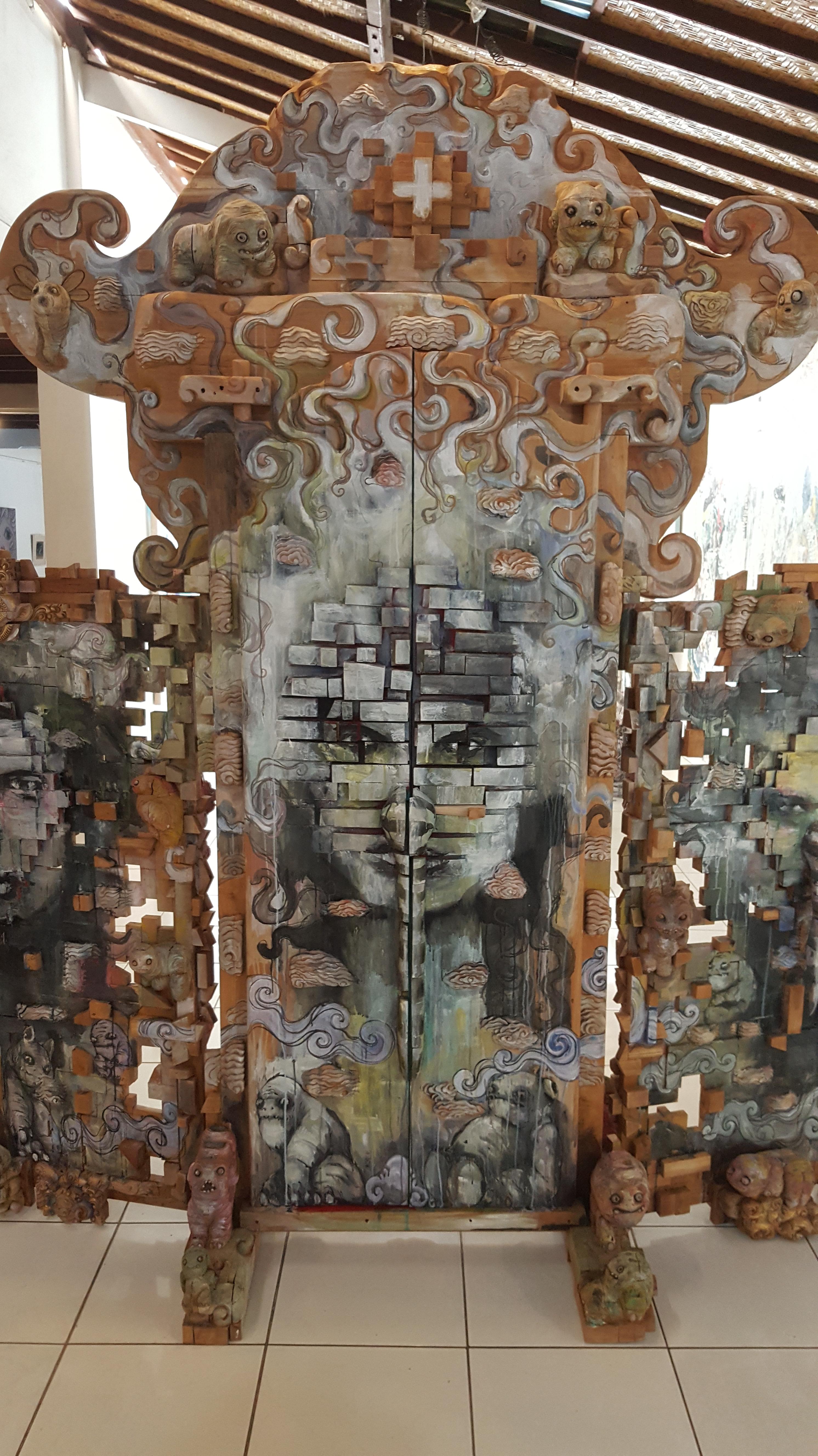 "Detail of ""Doors of Perception"" Image R. Horstman"