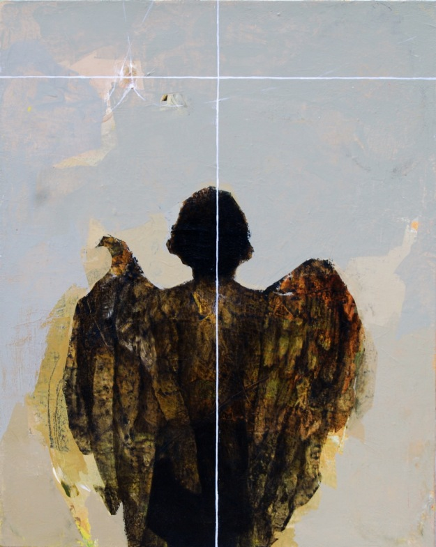 Angel-40x50cm-2019-ac-on-canvas1