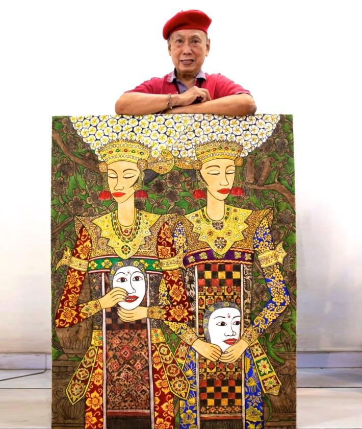 Painting by Tjandra Kirana