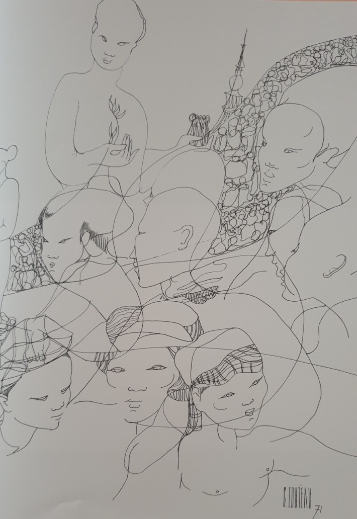 Sketch by Geneieve Couteau