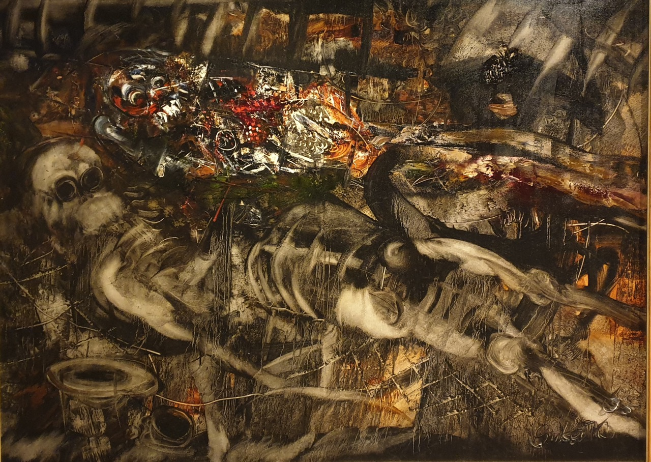 """Trunyan Series"" 2007 - Nyoman Sukari. Image Richard Horstman"