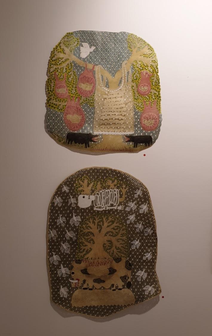 Indonesian artist Jumaadi represented by Jan Manton Art. Image Richard Horstman