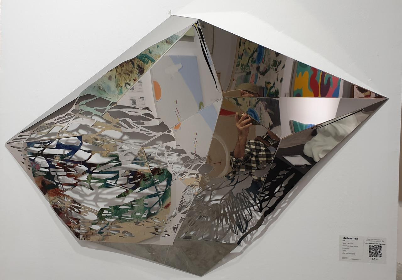 """Iris"" by Singaporean artist Melissa Tan exhibited by ISA. Image Richard Horstman"