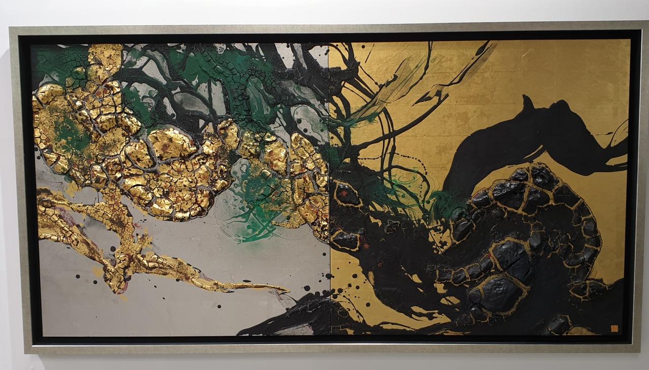"""Japanese artist Takehiko Sugawara """"Garyu no Matsu"""" Image Richard Horstman"""