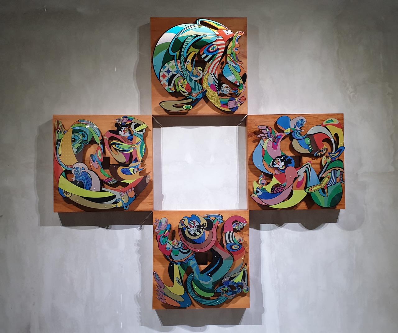 """Jalan - Jalan"" Indieguerillas at Art Bali. Image Richard Horstman"